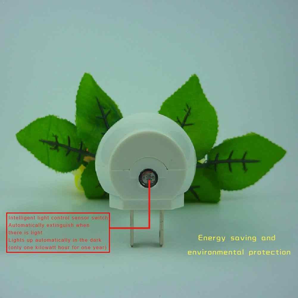 110-220 V ローズキノコ型の Led 夜の光誘導光制御ランプ家の装飾の花瓶ソケットランプ照明ツール