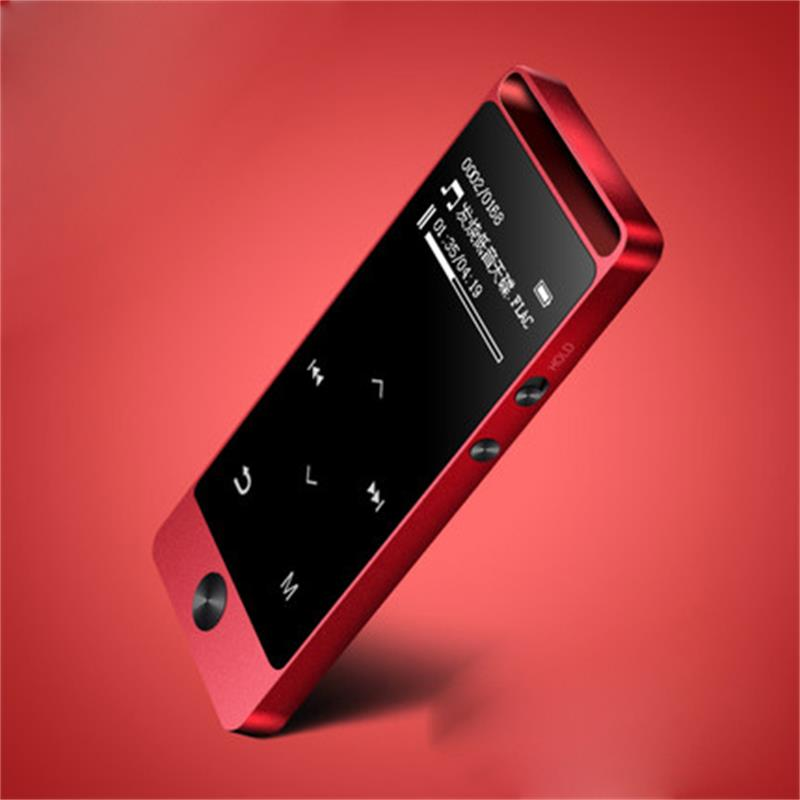 2019 New Ultra-thin Lossless HiFi MP3 Music Player Original BENJIE-S5 Pure Bass 8GB Touch Button With FM Radio, Recorder, Clock
