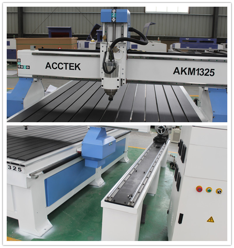 Mach3 controller rotary axis cnc router 1325 4axis woodworking cnc router for chair legs art craft