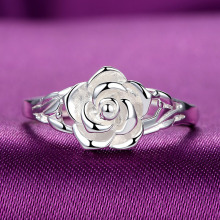 Silver 925 ring gold Silver 925 Jewelry Costume Jewelry Rings Sterling silver rose costume jewelry Indian Jewelry Men's 9852444 925 silver jewelry ring pure zircon ring female models s925 sterling silver rings costume jewelry india citrine opal brand