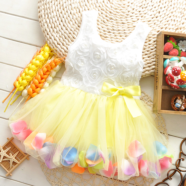 11c9ee945 2018 New Summer baby girls dress for 0 1 2 3 Year birthday clothes ...