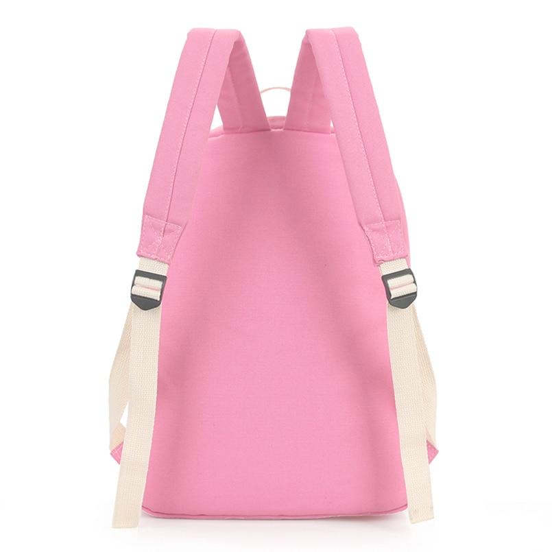 Hot Sale Style Bookbags Womens Backpack Travel Bags Student School Bag Girl Backpacks Casual Travel Rucksack #3