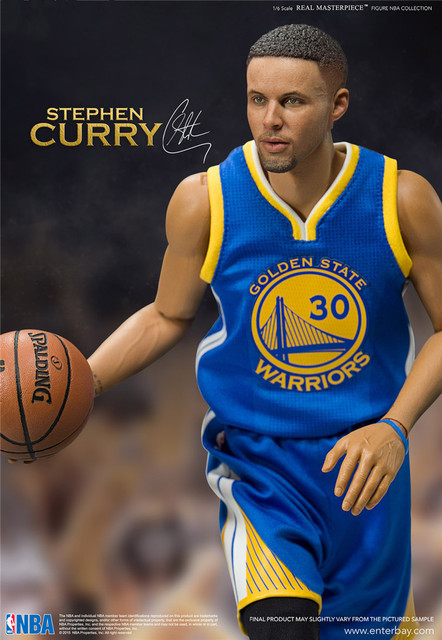 25dfbeba810f NBA Stephen Curry Golden State 40 Champion Blue Set Action Figure Toy PVC 1  6