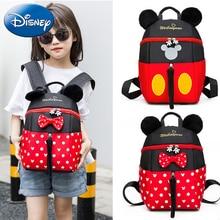 f40834165fb11 Disney Kinder Rucksack Mickey Maus Neue Mädchen Junge Schule Taschen Frauen Cartoon  Kinder Nette Kindergarten Mode
