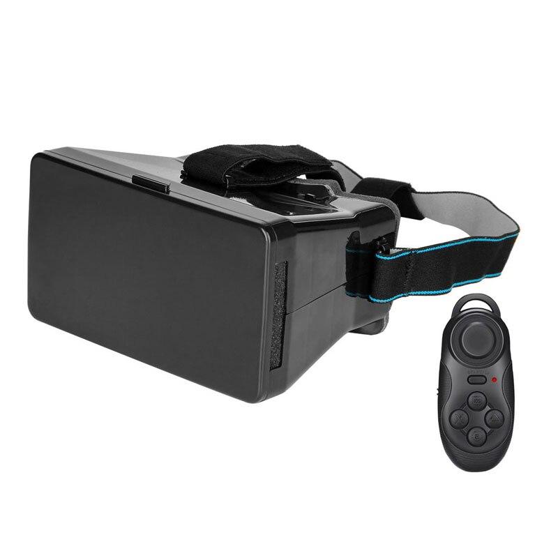 New Arrivel VR1 <font><b>Generation</b></font> <font><b>Mobile</b></font> <font><b>Phone</b></font> <font><b>Virtual</b></font> <font><b>Reality</b></font> 3D <font><b>Glasses</b></font> + Remote Control Black High Quality