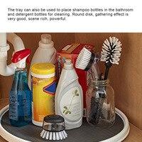 Кухонная бутылка приправы лоток для хранения поворотный шкаф поворотный стол для кухонного хранения HYD88
