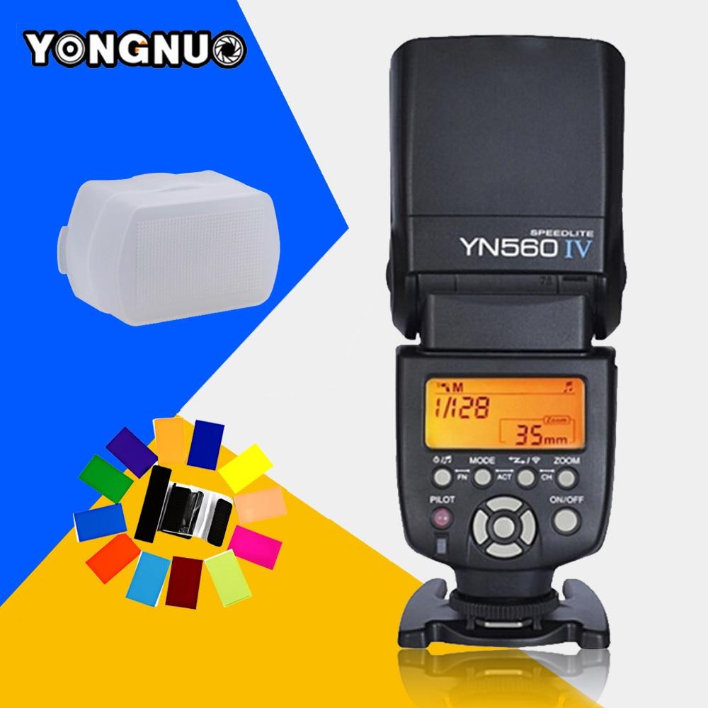 Yongnuo YN-560 IV YN560IV YN560 IV Universal Wireless Flash Speedlite For Canon Nikon Pentax Olympus Fujifilm Panasonic Sony A99 yongnuo yn 560 iv yn560iv yn560 iv universal wireless flash speedlite for canon nikon pentax olympus fujifilm panasonic gh4 gh3