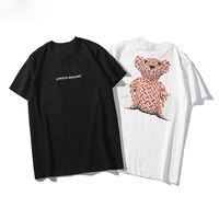 2019 Best Quality London England Designer Full B Bear Printed Women Men T shirts tees Fashion Tops Men Unisex Cotton T shirt