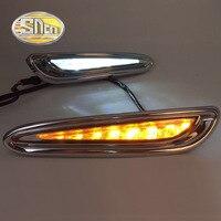 SNCN 2PCS LED Daytime Running Light For Mazda 3 2011 2012 2013 Car Accessories Waterproof ABS 12V DRL Fog Lamp Decoration