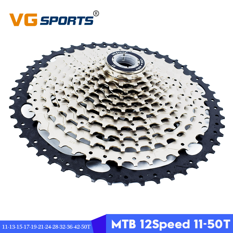 VG sports Ultralight 12 speed 11 50T mountain bike cassette freewheel MTB sprocket 12S 50T bicycle