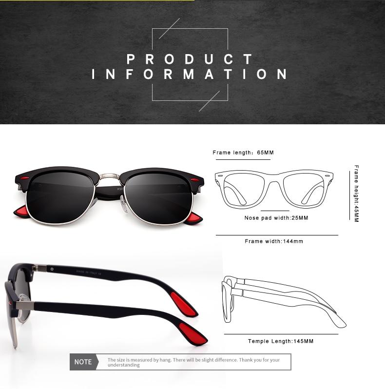 ASUOP 2019 New Polarized Sunglasses for Women UV400 Fashion Round Men's Glasses Classic Retro Brand Design Driving Sunglasses (10)