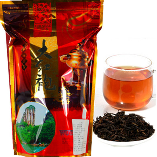 250g Chinese Da Hong Pao tea Big Red Robe oolong black tea green food  da hong pao health care dahongpao tea