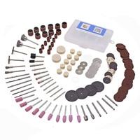 Toolfit 143Pcs Rotary Power Tool Kits For Dremel Accessories 3 0mm Shank Wood Metal Sanding Polishing