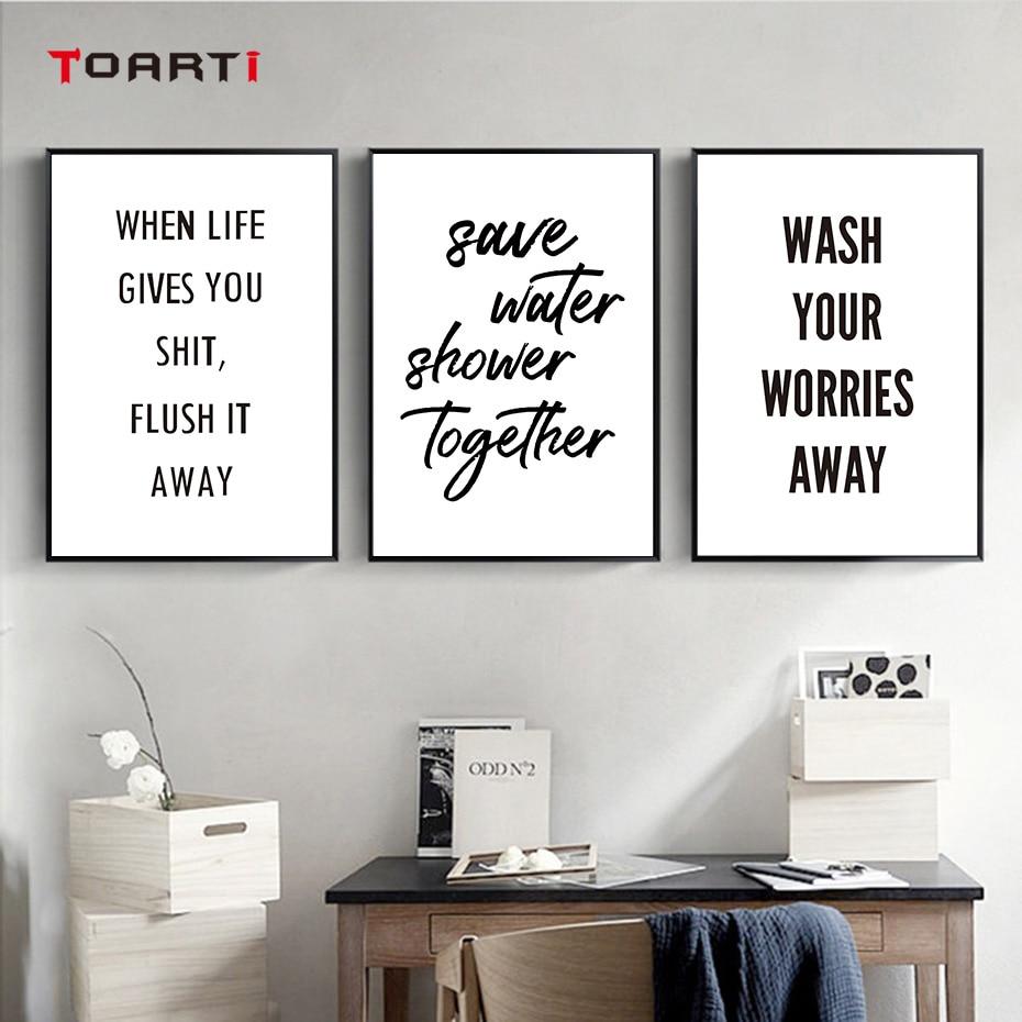 poster für badezimmer