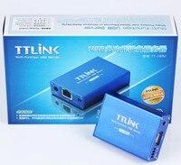 FREE SHIPPING TT 180U1 USB Printer Server Sharing Network Printing Network Scanning