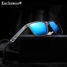 Aluminum magnesium Fishing sun shades males polarized black metallic body mirror solar glasses male driving eyewear top quality uv400
