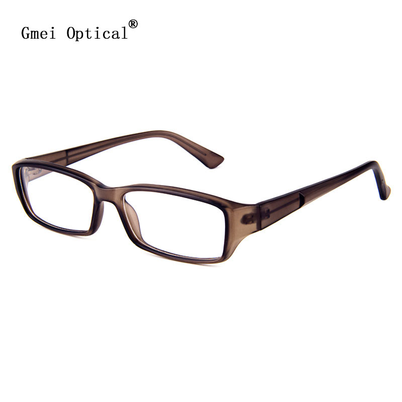 a80c69c2e7b Simplicity And Handsome Rectangle Plastic Full-Rim Men s Optical Eyeglasses  Frames Men Glasses Frame Translucent Brown