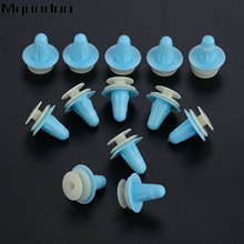 Mgoodoo 50PCS Universal Plastic Fasteners Clip Car Door Interior Male Female Matching Fixed Fit For V W Honda Toyota