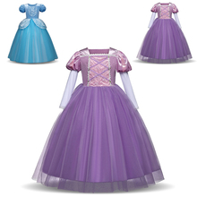 Elegant Baby Girl Dress Halloween Christmas Party Role-play Costume Princess Clothes