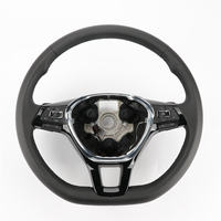 1PC MFS Multifunction Steering Wheel W/ Heated Black For VW Jetta MK6 New Tiguan 5NG 419 091 F CYT