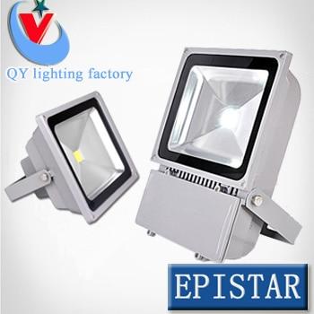 4pc/lot 100W led spotlight led search lamp 85~265V garden yard park square building цена