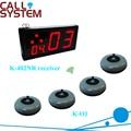 Настольный сервис кнопка вызова система K-402NR монитор с K-O1 передатчик 100% водонепроницаемый