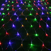 1 5x1 5 M 96 Leds LED Lighting String Net Lights Curtain Garland Chandelier For Home