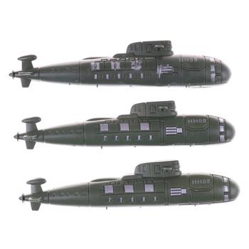 2 sztuk partia Model łodzi podwodnej zabawki piasek sceny modelu zabawki ozdoby II wojny światowej wojny wojskowej łodzi podwodnej tanie i dobre opinie MYPANDA Other 1 12 3 lat submarine model toy Unisex