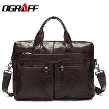 OGRAFF, натуральная кожа, мужская сумка, мужская сумка, дизайнерская сумка-мессенджер, мужской портфель, мужская сумка на плечо