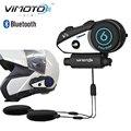 Vimoto Marca V6 Multi-funcional Do Bluetooth para o telefone móvel e GPS rádios Capacete Da Motocicleta fone de Ouvido Bluetooth
