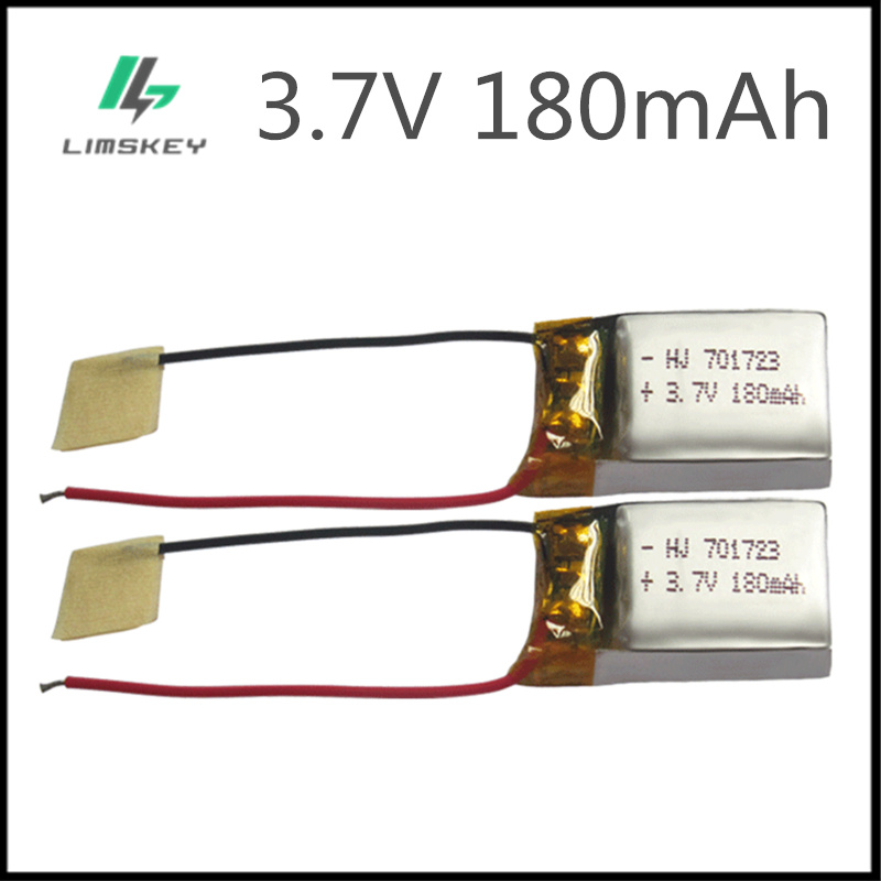 3.7 v 180 mah lipo bateria para syma s107g s109g s111g helicóptero de controle remoto mjxrc x900 x901 3.7 v 180 mah 20c bateria brinquedos