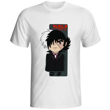 Black Jack T-shirt Kawaii Anime Character Creative Pop Retro Japanese Cartoon Novelty T Shirt Cool Rock Design Women Men Top