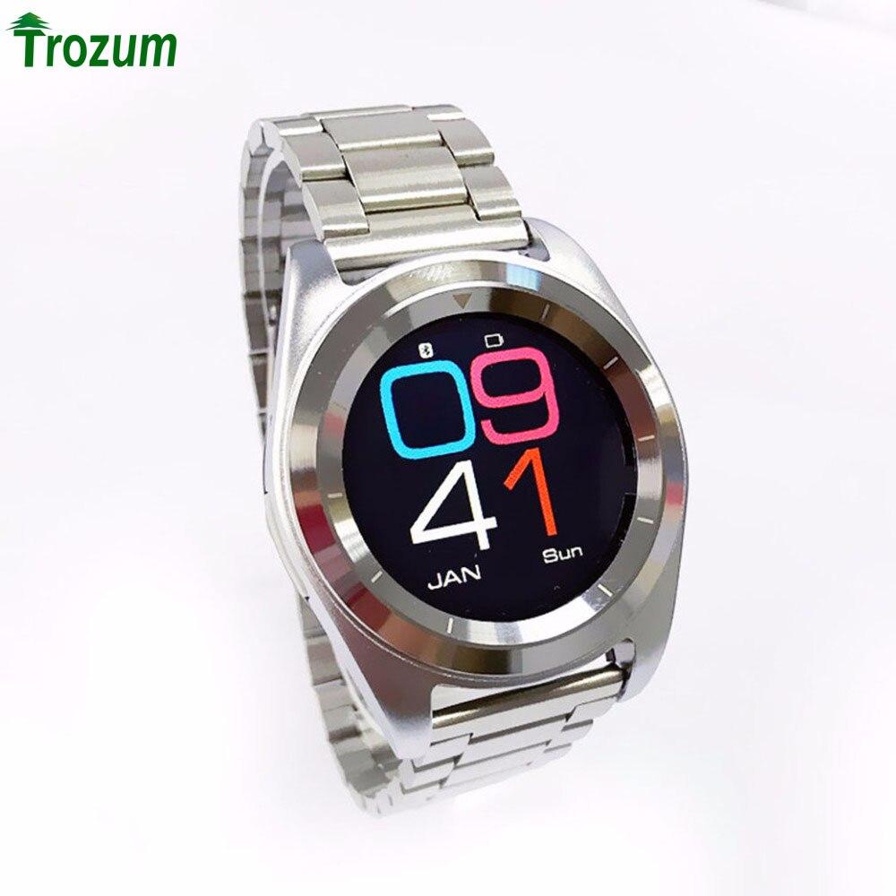 imágenes para NO. 1 G6 Deporte Bluetooth 4.0 Inteligente Reloj correa De Metal MT2502 240*240 Pulsómetro Corriendo Smartwatch para ios Android 2017NEW