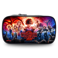 Stranger Things 2 Women Make up Pen Cases Cosmetic Bags 3D Pencil Pouch Children Girl Holder Boys Travel Portable Supplies Bags