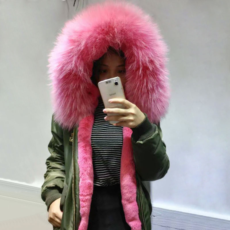 New High Popular Fashion style Winter Bomber Jacket Faux fur inside lining Spring and Winter female jacket