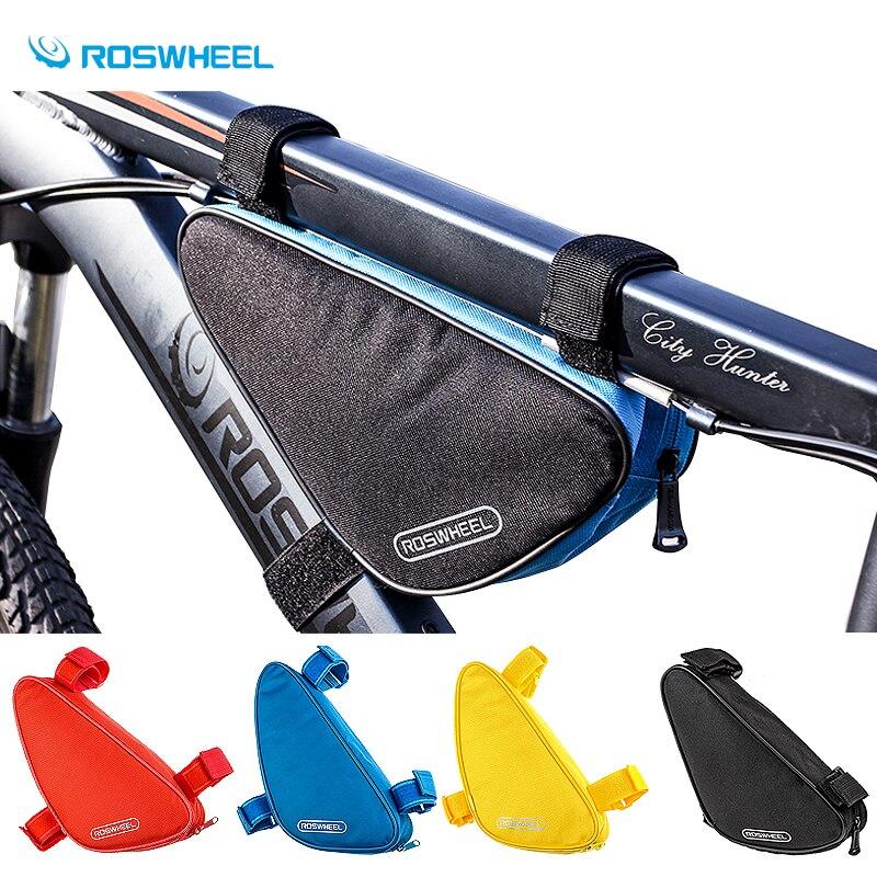 Roswheel 8 colori per il Telaio Top Tubo della Parte Anteriore del Triangolo Sacchetto della Sella Del Sacchetto Pannier MTB Per La Bici di Riciclaggio Della Bicicletta