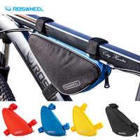 Roswheel 8 cores quadro superior tubo frente triângulo saco de sela bolsa pannier mtb para ciclismo bicicleta