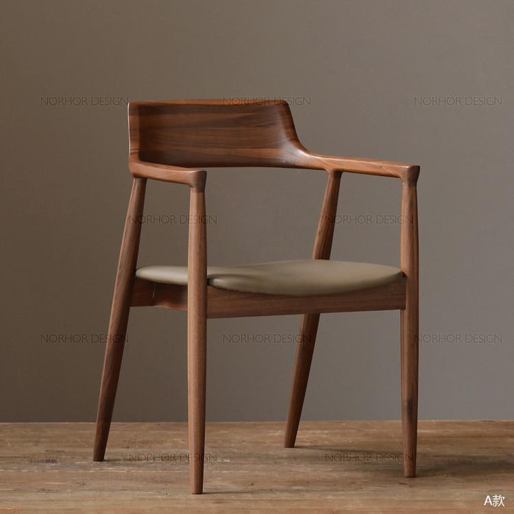 Expresión nórdica / clásicos / muebles de nogal negro Naoto en ...