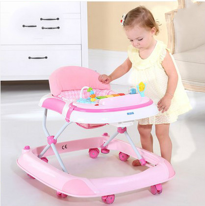 Baby walkers side has multi-function children baby walkers 7 to 18 months, musicology baby baby walkers step carts to help car multifunctional chest children 7 to 18 months