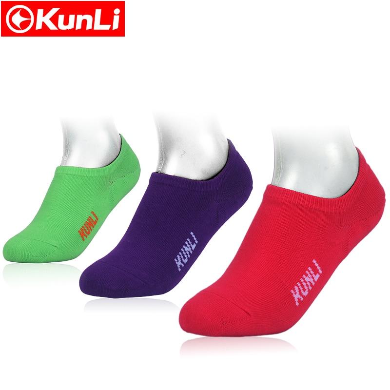 KUNLI/брендовые носки спортивные для игры в бадминтон теннисные тапочки быстро