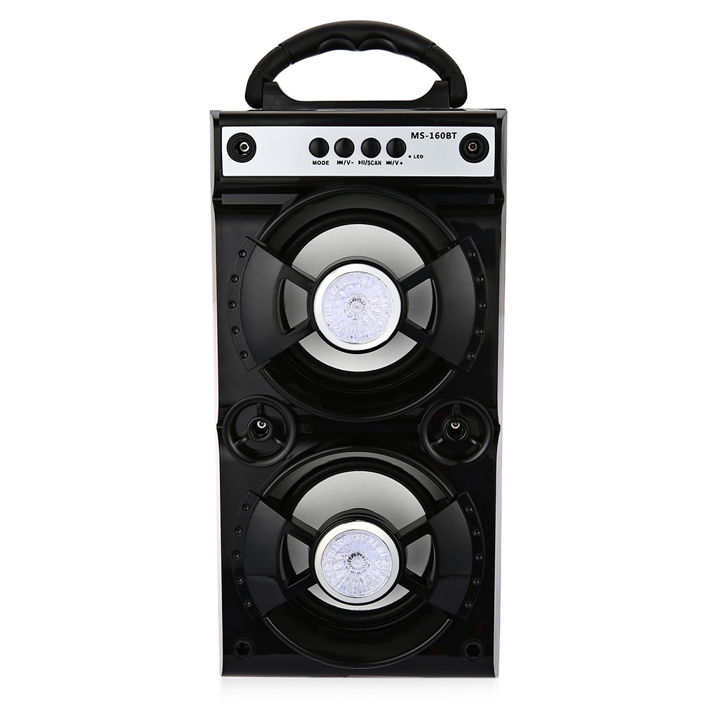 product Newest MS - 160BT 161BT Portable Micro USB Mini Stereo Super Bass Speaker High Power Output FM Radio Wireless Bluetooth Speaker