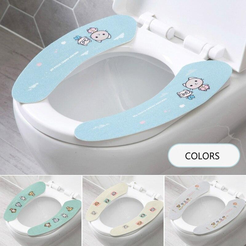Toilet Seat Cover Apposto Fumetto Wc sedile Wc pad Universale sedile del Water Pad pad ispessita pad post