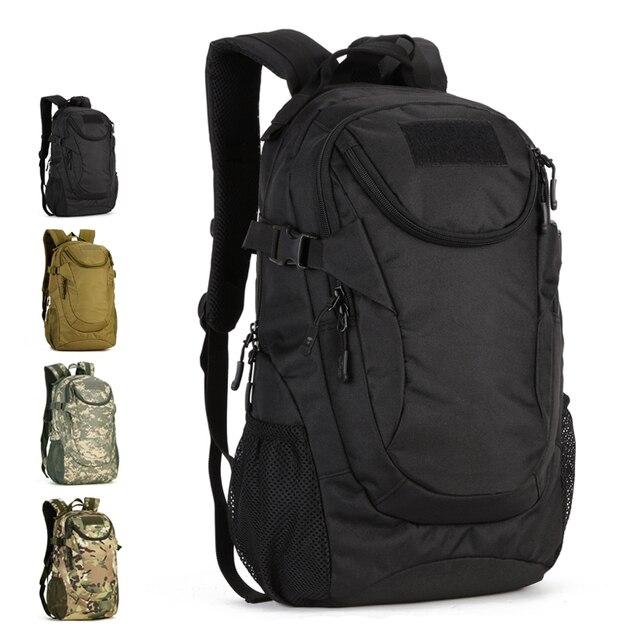 25L Водонепроницаемый 14-дюймовый ноутбук военный рюкзак, тактический вещевой мешок, Для мужчин Спорт на открытом воздухе рюкзак туристический Пеший Туризм Кемпинг S401