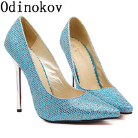 Myers 13 Cm Metal Plating With The European Version Of Costume Code Shoes High Heeled Shoes