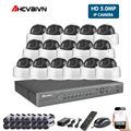 16CH 5MP Security System Kit POE NVR 16PCS Full HD Dome IP Camera 5.0MP Network Camera Outdoor CCTV NVR APP View