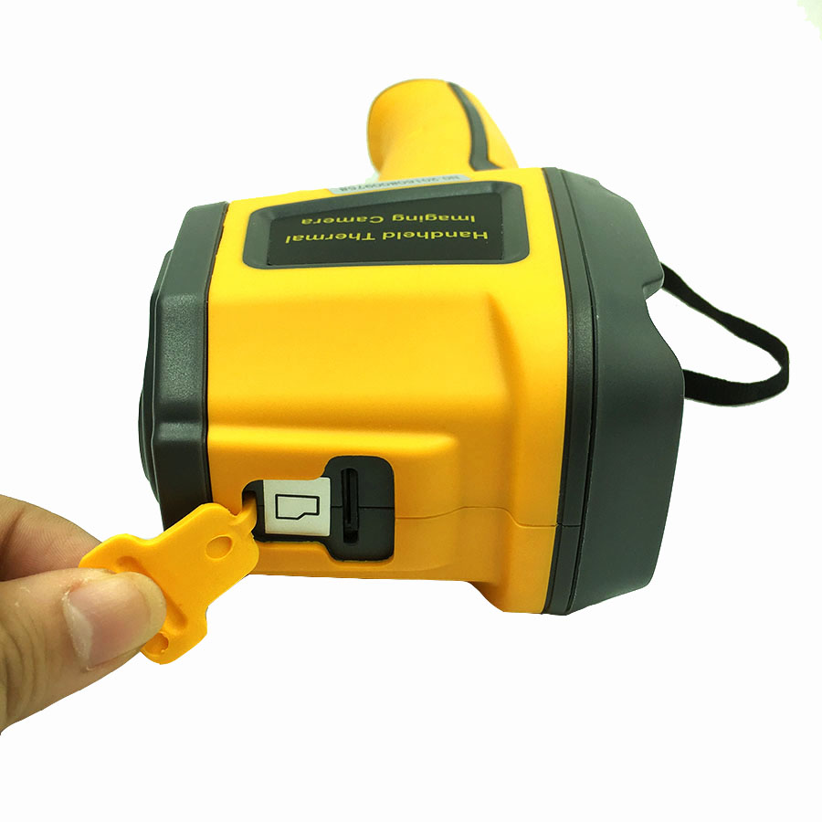 Digital Fixed Focal Thermal Sensing Infrared Thermal Imager with Full-Color Screen