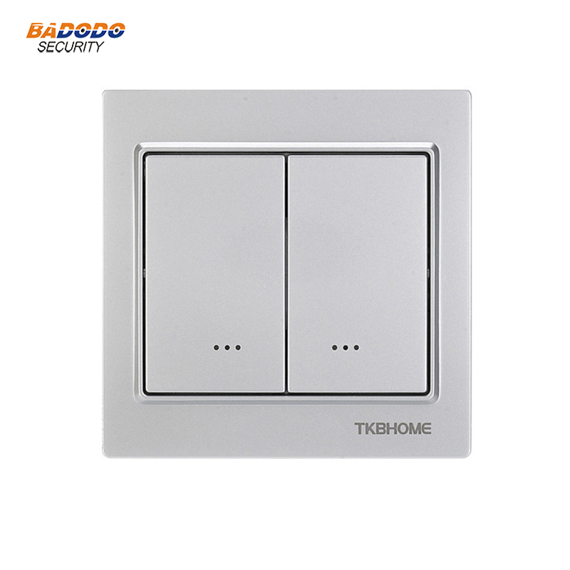 Z Wave Plus Dual Wall Switch Tz56d Wireless Repeater Wall
