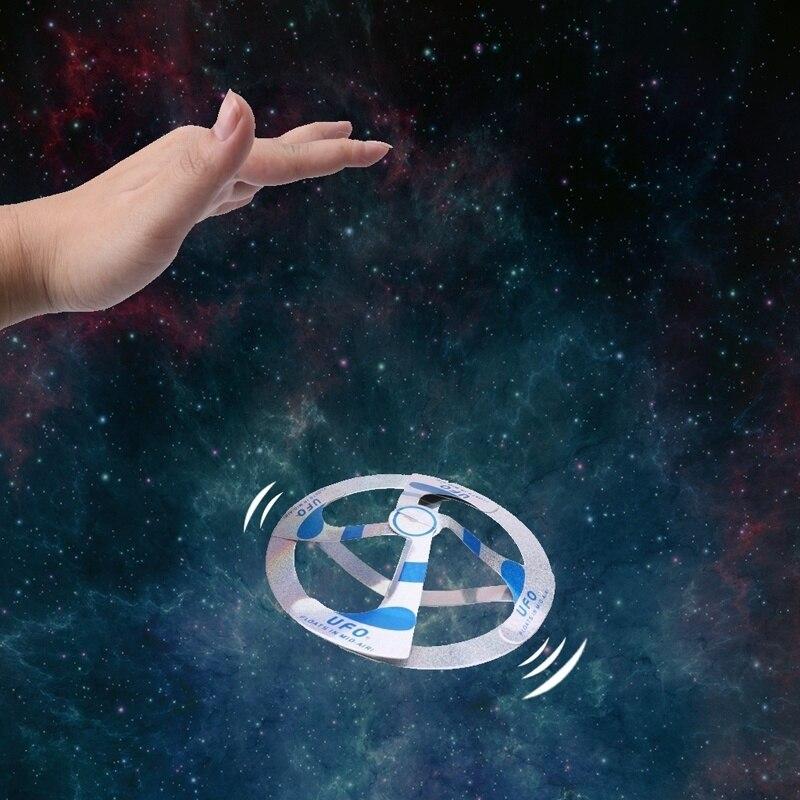 Волшебная игрушка с сюрпризом Лидер продаж Mystery НЛО парящая летающая тарелка Волшебная летающая тарелка диск игрушка для улицы