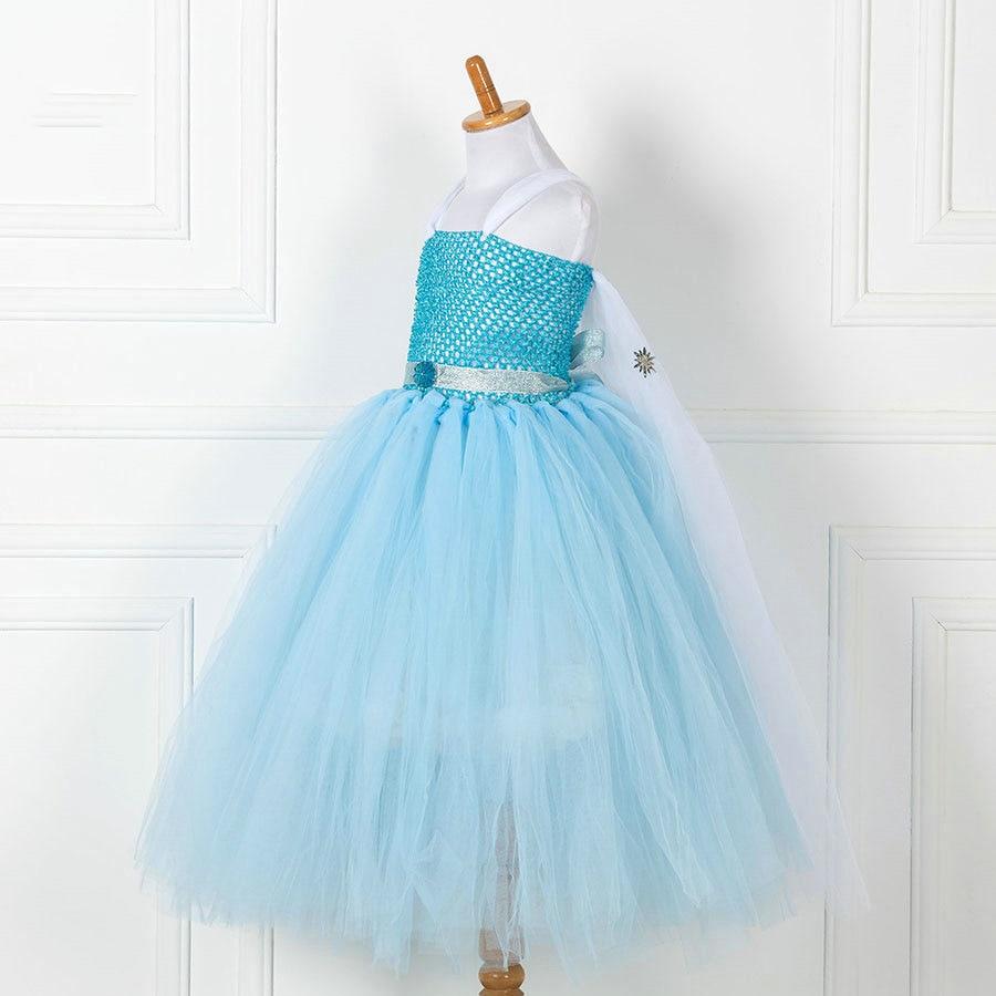 hot sale next girls clothing fashion designer crochet fancy elsa ...