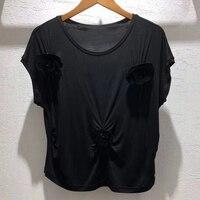 Dressnow Короткие футболка летние женские 2018 Блузы с коротким рукавом Футболка женская мода однотонные футболки женские